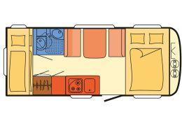 Caravana DETHLEFFS C'go 495 QSK de Ocasión