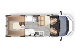 Furgoneta Cámper DREAMER Living Van Select modelo 2020 Nueva en Venta