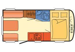 Caravana DETHLEFFS C-Trend 455 QL modelo 2016 de Ocasión