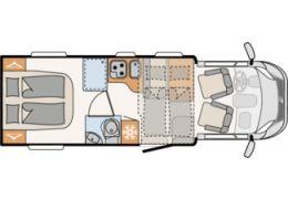 Autocaravana Perfilada DETHLEFFS T 7057 DBM modelo 2020 de Ocasión