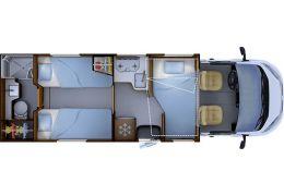 Autocaravana Perfilada RAPIDO 665 F modelo 2020 Nueva en Venta