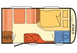 Caravana DETHLEFFS Camper 390 FS modelo 2016 de Ocasión