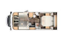 Autocaravana Perfilada SUNLIGHT T-69 L en Alquiler