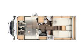 Autocaravana Perfilada SUNLIGHT T68 Modelo 2020 en Alquiler