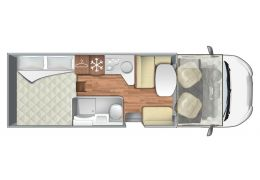 Autocaravana Capuchina<br/>ROLLER TEAM - Kronos 290 M