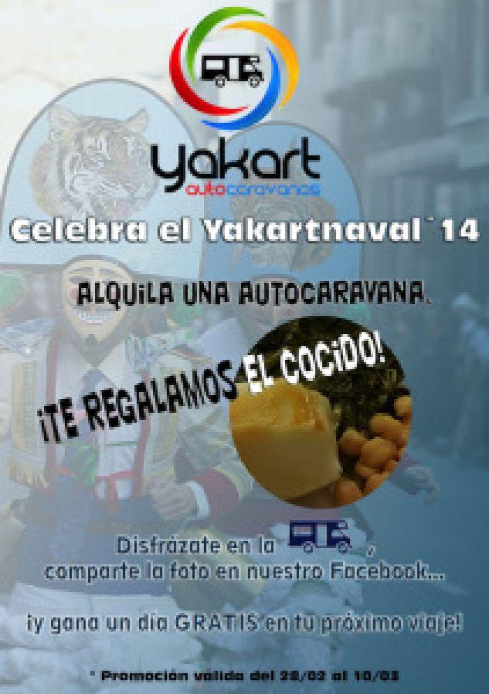 ¡Disfrázate! ¡Celebra el Yakartnaval!
