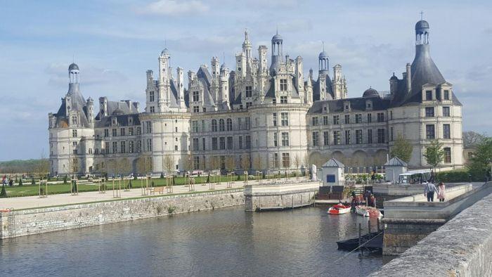 Los Castillos del Loira en Autocaravana