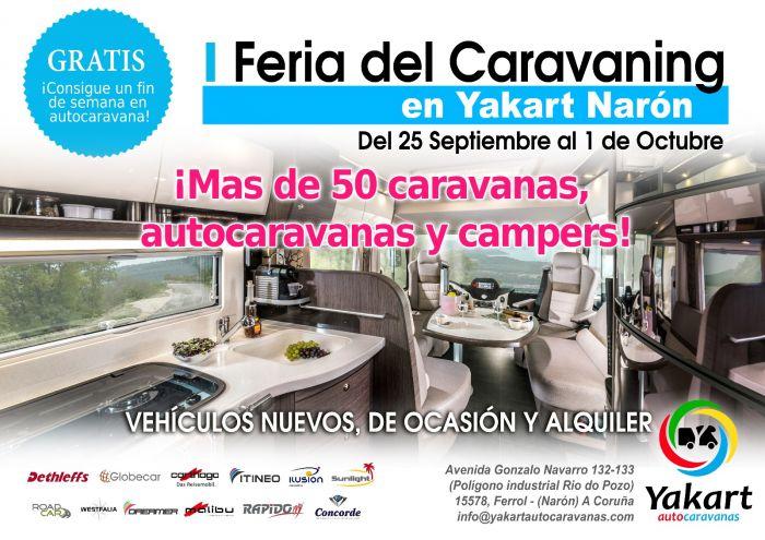 I Feria del Caravaning en Narón