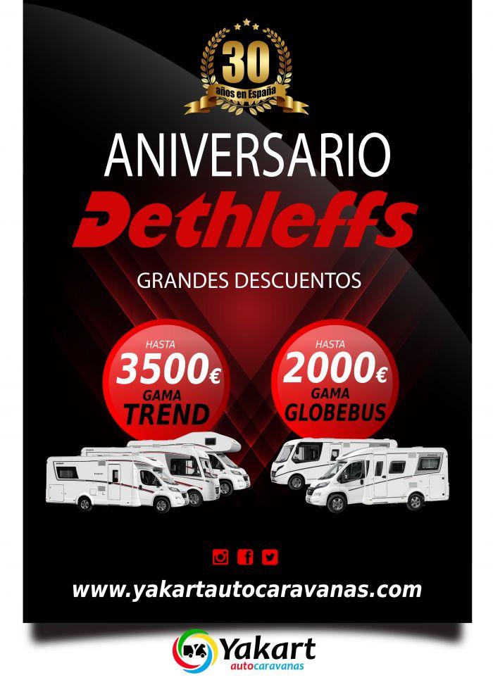 Promocion Dethleffs 30 aniversario en España