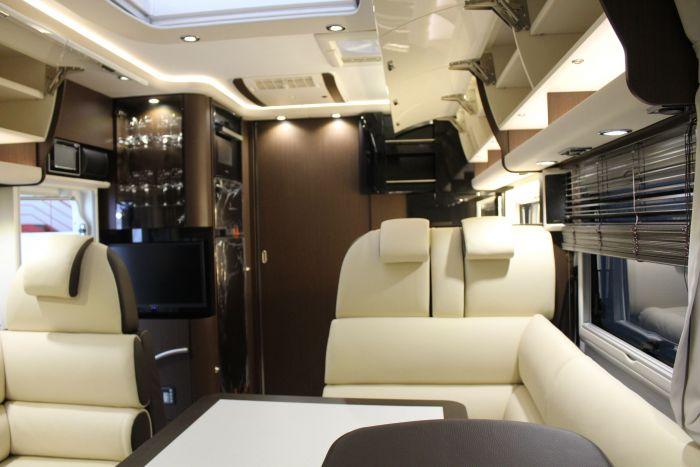 Autocaravanas para disfrutar del lujo en los detalles