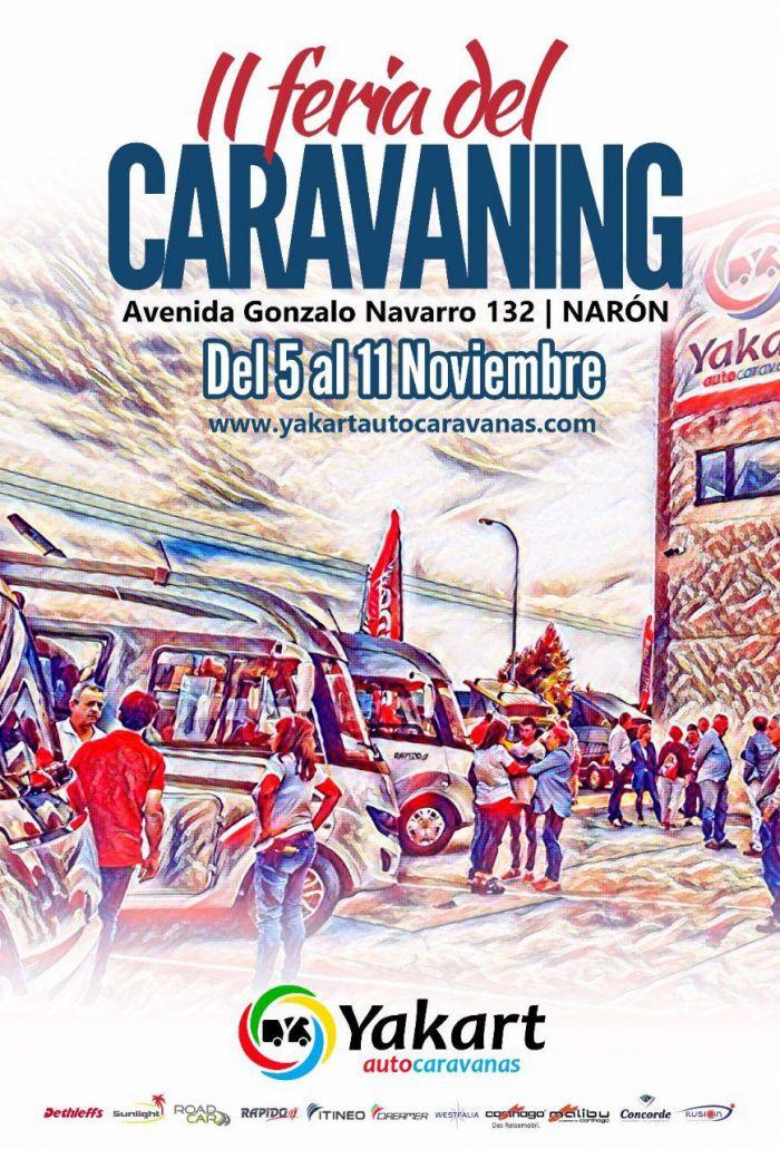 Narón acoge del 5 al 11 de noviembre su II Feria del Caravaning