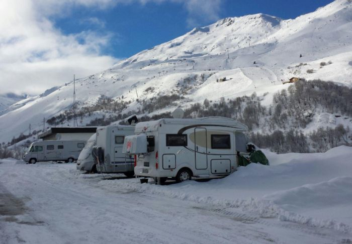 La caravana, idónea para cualquier viaje invernal
