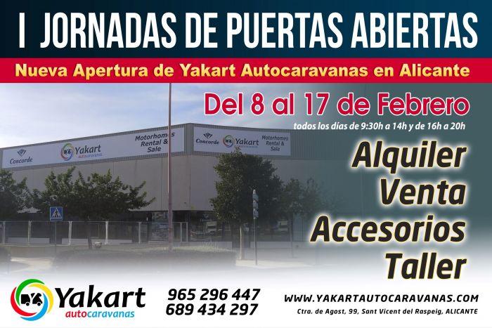 Yakart Alicante- Jornadas de puertas abiertas
