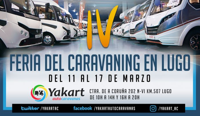 IV Feria del Caravaning en Lugo 2019
