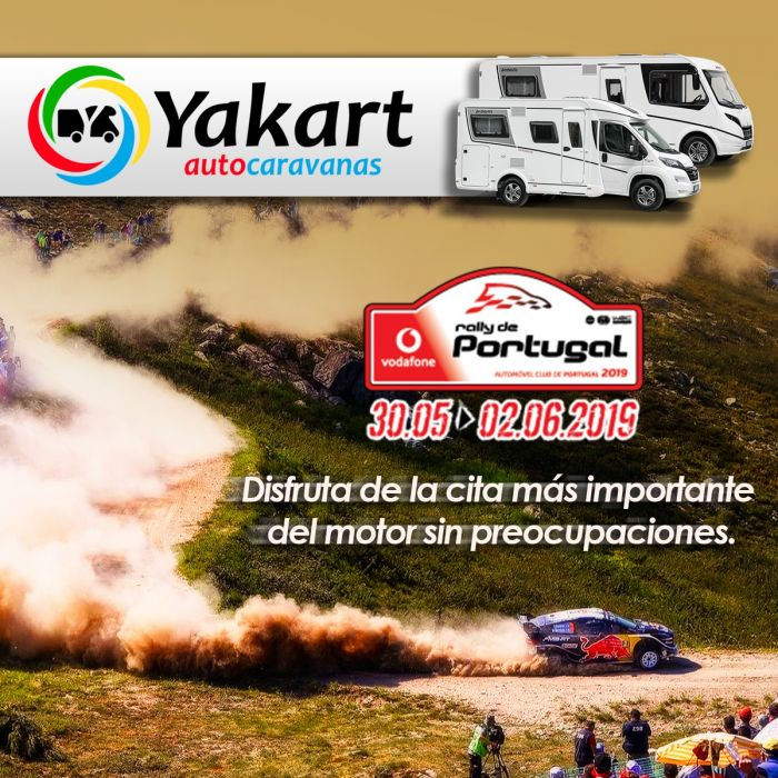 Rally de Portugal 2019 en autocaravana