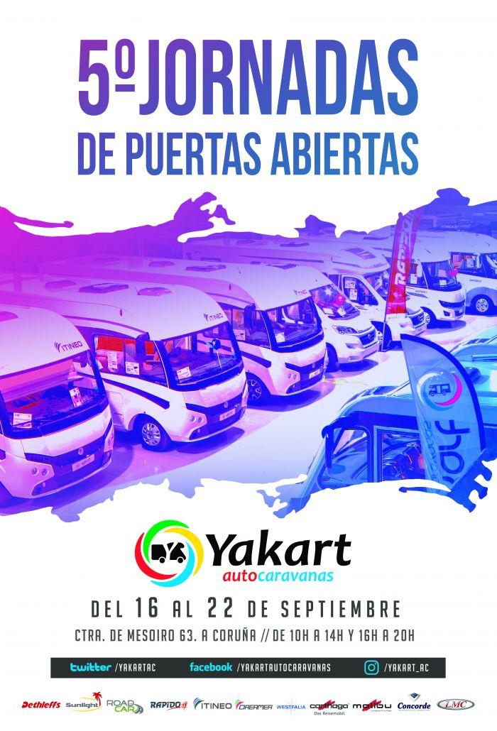 Yakart ultima sus jornadas de puertas abiertas en A Coruña