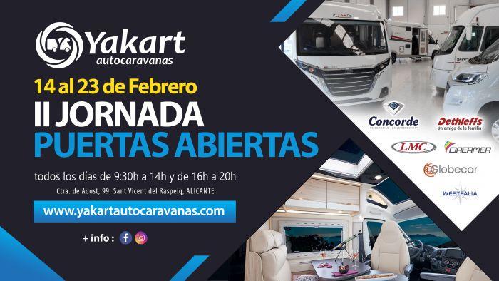 Yakart prepara sus segundas Jornadas de Puertas Abiertas en Alicante