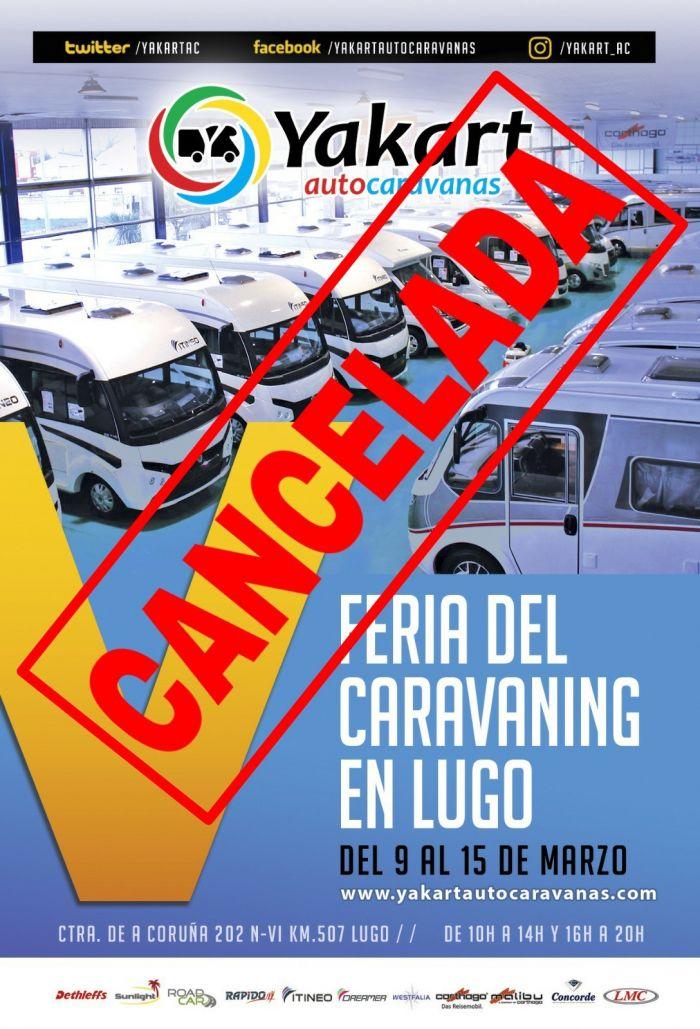Cancelada la V Feria del Caravaning en Lugo