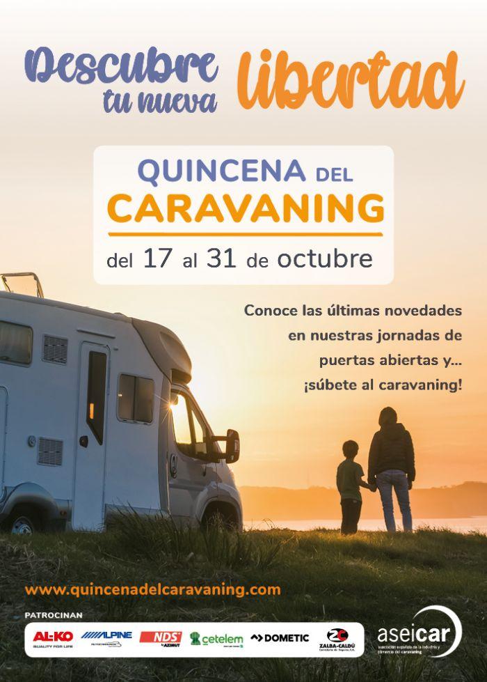 Quincena del Caravaning, del 17 al 31 de octubre