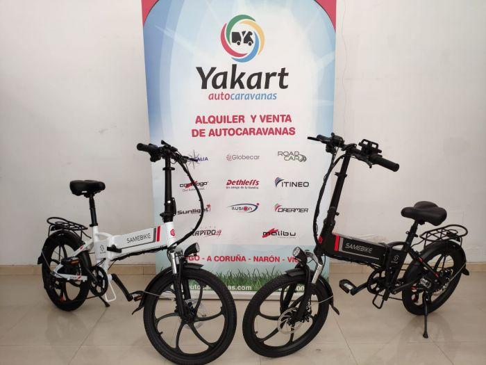 Yakart suma a sus servicios en A Coruña el de alquiler de bicis eléctricas