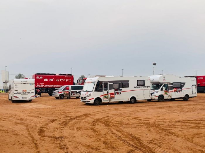 Yakart vuelve a la arena del Dakar, dando soporte al equipo Toyota